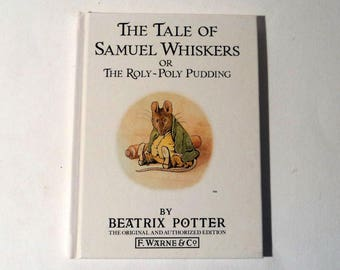 Beatrix Potter Childrens Book Vintage Book The Tale of Samuel Whiskers