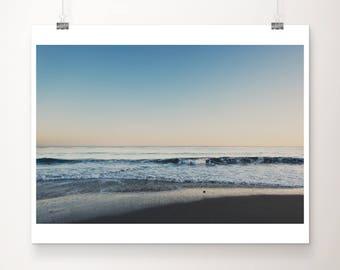 Santa Cruz photograph sunset photograph Pacific Ocean photograph beach photography coastal print Santa Cruz print beach house decor
