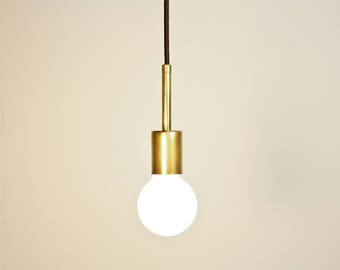 Simple Elegant Brass pendant