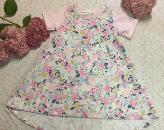 Flowers Roses Custom Dress Summer Collection LIMITED