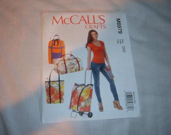 McCall's Pattern #M6979 for Luggage Cart Bags-Uncut