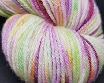 Hand Dyed Superwash Merino DK knitting yarn knitting, crochet wool