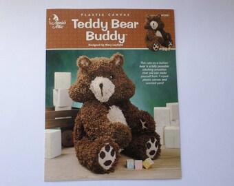 Plastic Canvas Teddy Bear pattern book. Annies Attic