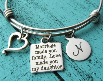 daughter in law gift from mother of groom, step daughter wedding gift, bonus daughter gift, blended family, step daughter gift from stepmom