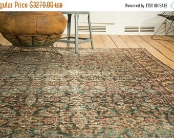 10% OFF RUGS 5.5x10 Vintage Mahal Carpet
