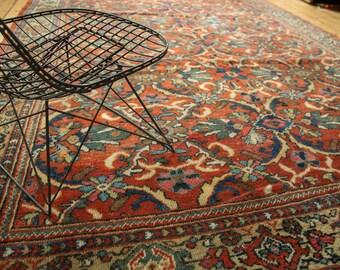 7x10.5 Vintage Mahal Carpet
