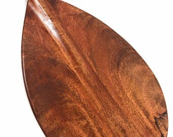 "Mango Paddle w/ Straight Shaft 36"" - Steersman Design Made in Hawaii 