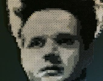 Eraserhead | Perler Bead Portrait | David Lynch Fan Art