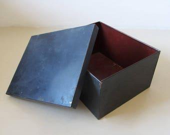 Boîte en métal Vintage