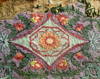 Pearl McGown Hooked Rug Canvas, Unfinished, Cutter for Crafts