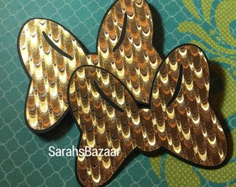1 Count Gold Foil Bow