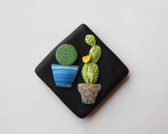 Cactus Refrigerator Magnet