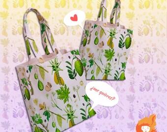 Tropical Botanical Bag
