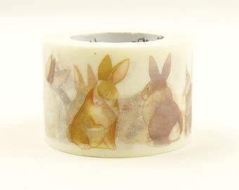 Rabbit Roger - Japanese Washi Masking Tape - 28mm wide - 11 Yard - No discount