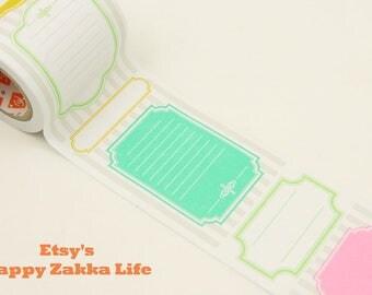 Scroll Label Sticker - 9 Designs - 3m (3.3 yard)
