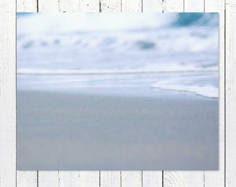Large Ocean Art Photography | Beach Photography Prints | Coastal Decor Wall Art | Turquoise Ocean Waves Picture | Nautical Wall Decor Print