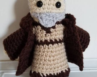 Star Wars Inspired Obi-wan Kenobi Crochet Plush