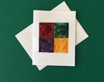 Origami Fiber Art Gift Card Good for Any Occasion