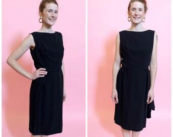 1950s Ann Barry Little Black Dress