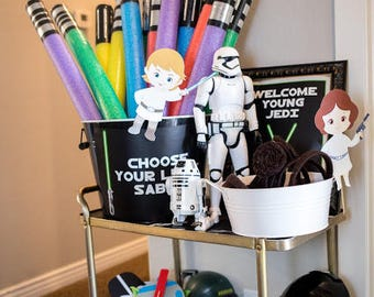 10 Pool Noodle  Foam Sabers Party Favors, star birthday party favors