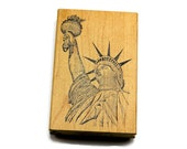 Statue of Liberty Stamp Lady Liberty Stamp Rubber Stamps of America Patriotic Stamps For Independence Day New York Stamps
