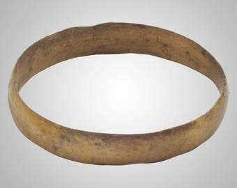 Authentic Ancient Viking  wedding Ring, medieval ring, wedding band, wedding ring  C.866-1067A.D. Size 10 1/4  (20mm)(Brr1016)