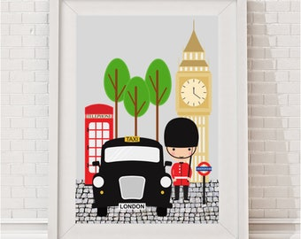 Best of London Print