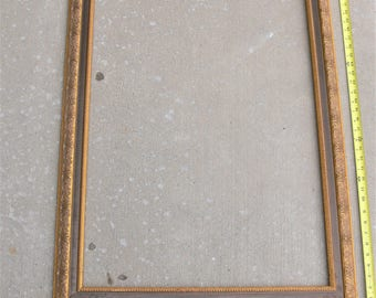 27x38 Vintage wood picture frame