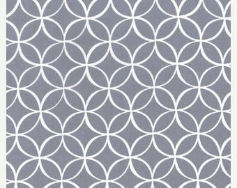SHOP CLOSING SALE Michael Miller fabric for quilt or craft Tile Pile Gray Half Yard