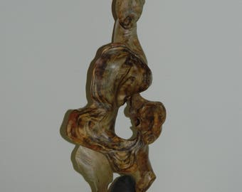"""A Driftwood Sculpture named """"Whimsey."""""""