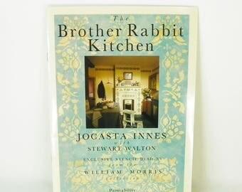 Vintage Paintability Stencil Booklet, Brother Rabbit Kitchen, Jocasta Innes, FREE SHIPPING