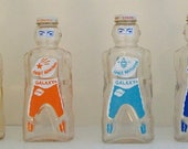 RESERVED FOR FLICKRTASTIC - Space Age Bottle 1950's - Spaceman/Robot Galaxy Syrup Bottle Bank