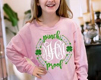 Monogrammed Pinch Proof T-Shirt