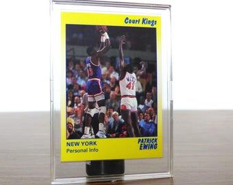 1990 Patrick Ewing Star Co. Card Basketball NBA New York Knicks 44
