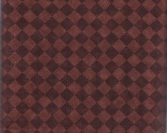 Chocolate Checks, Brother Sister Design StudioPattern B29-CA-PO6-A, midweight cotton