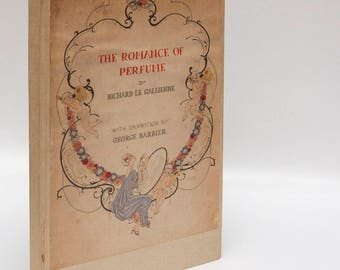 "Art Nouveau Antiquarian Book: ""The Romance of Perfume"" [1928] First edition George Barbier color plates Pretty Books 