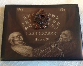 Ouija Board / micro miniature Ouija Board / ONLY 1 Available! / 20 dollars each plus shipping