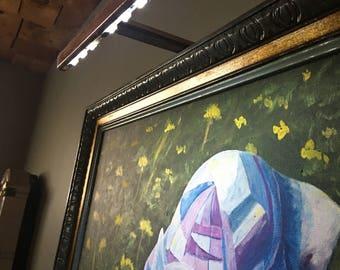 CUSTOM MADE - ART DlSPLAY. LlGHTS,  by Rusyniak