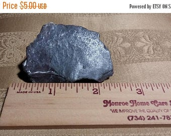 Etsy On Sale Thunderegg Crystal, 56x25x37mm, Lightly Polished, Grey, Natural Fossilized Molten Rock