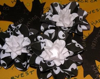 Halloween Scrapbook Flowers,Spooky flowers, Halloween embellishments