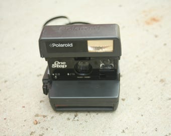 Vintage Polaroid Camera, Wedding Photo Booth Prop, Wedding Camera, Polaroid One Step
