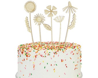 Lars Flowers Cake Topper