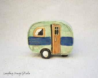 Green and Blue Fairy Camper