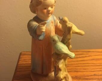 Vintage Child Figurine
