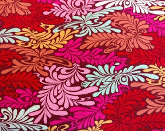 Tula Pink - Moon Shine - Camo Deluxe - Free Spirit Fabrics (PWTP057.Strawberry) - 1 Yard