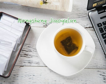 100 Chinese Organic Jiaogulan Tea bags tested by UNQD gift for mother gift for father multifunctional herbal tea