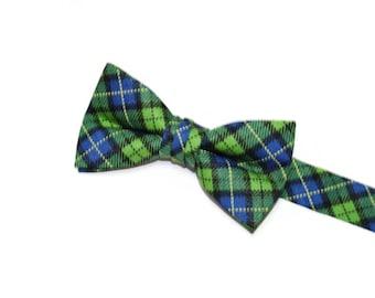 Boys Bow Tie~Easter Bow Tie~Summer Bow Tie~Boys Plaid Bow Tie~Ring Bearer Tie~Wedding Bow Tie~Boys Gift~HoBo Ties