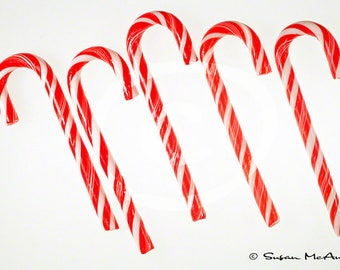 Christmas Photo, Candy Cane Photo, Clipart, Holiday Clipart, Scrapbooking, Digital Download, Stock Image, Red, Blog Header, White, Clip Art