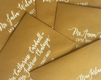 Intro to Hand Lettering and Envelope Addressing Packet