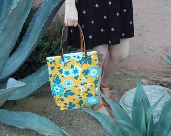 Modern Bohemian, Womens Everyday Bag, Eco Friendly Bag, Carry All Bag, Tote Bag with Pockets, Leather, Summer Handbags, Eco Bag, Boho Bag